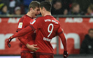 Lewandowski wants Muller as support striker