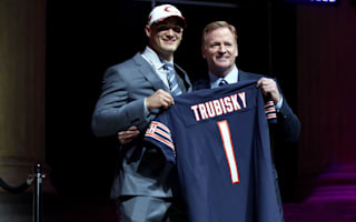 Garrett goes first but Trubisky leads night of quarterback drama