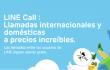 LINE extiende sus llamadas a iOS en España y Latinoamérica