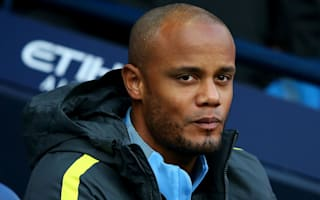 Kompany injury not serious, says Manchester City boss Guardiola