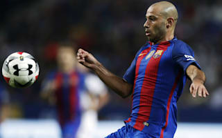 Mascherano happy Barca are still counting on him