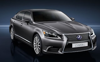 Lexus reveals new hybrid and sports limos