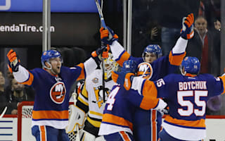 Islanders prevail in Brooklyn thriller, bragging rights for Sharks and Kings