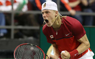 Canada's Shapovalov defaulted after smacking ball into umpire's face