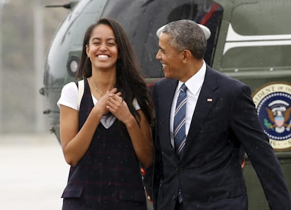 Malia Obama skips DNC and hits Lollapalooza