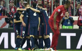 Champions League Matchday Two: Bayern hunt Atleti revenge
