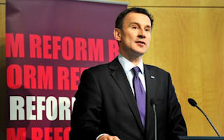 Hunt to review NHS tendering rules