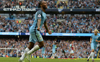 Guardiola delighted with Sterling form