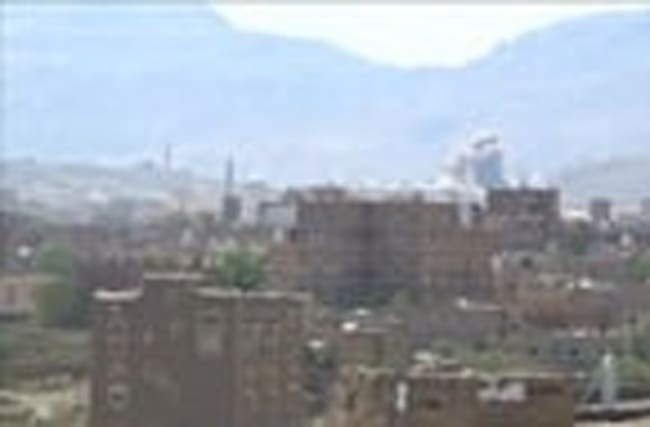 Air strikes hit military site in Sanaa
