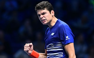 Raonic brushes aside Monfils