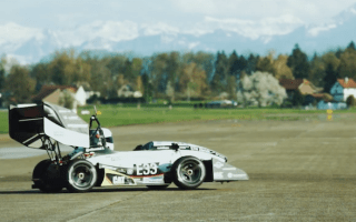 Student-built electric car hits 60mph in just 1.5 seconds