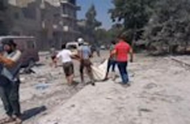 Raw: Aleppo Bombings Continue, Civilians Killed
