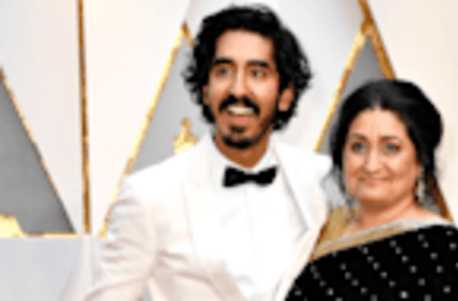 EXCLUSIVE: Dev Patel's Mom Says He Was a 'Comic' as a Child at the 2017 Oscars