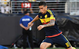 United States 0 Colombia 2: James and Zapata silence Copa America hosts