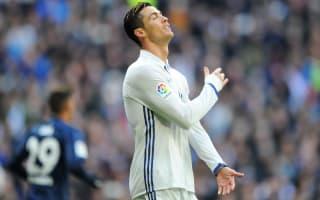 Ronaldo misses Madrid training ahead of Napoli clash