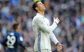 Real Madrid without Cristiano Ronaldo against Eibar