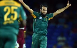 Tahir rips through West Indies