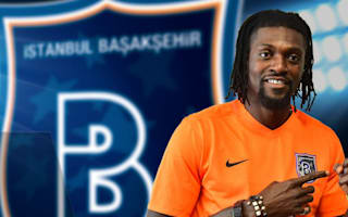 Free agent Adebayor pens Basaksehir deal