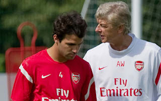 Fabregas forever grateful to Wenger and Arsenal