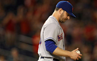 Shoulder surgery means end of season for Mets' Harvey