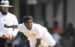 Sri Lanka keep Bangladesh in check with late wickets