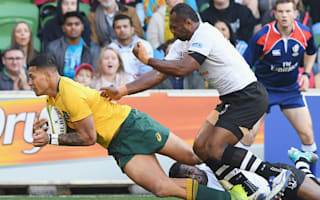 Folau double inspires Wallabies to victory over Fiji