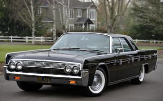 1963 Lincoln Continental goes up for auction with no reserve