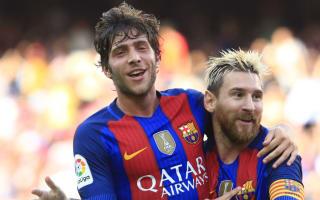 Sergi Roberto wary over Messi injury