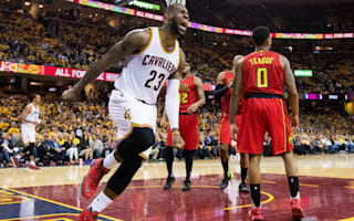 Cavs ease to victory over Hawks in game two