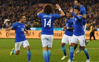 Super Silva proves worth for brilliant Brazil