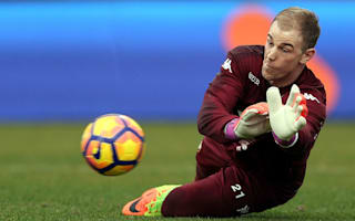 Manchester City miss leader Hart - Wilson questions Guardiola call