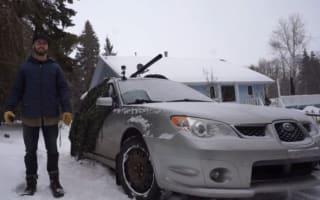 Video: How to turn a car into a potato-firing 'tank'