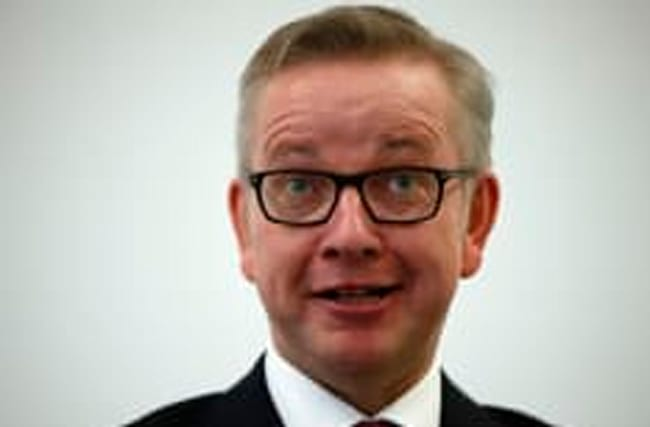 Michael Gove mocked for Donald Trump 'thumbs up' photograph