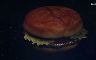 Food scientists invent a veggie burger that bleeds