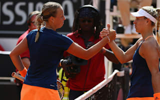Struggling Kerber toppled by qualifier Kontaveit in Rome