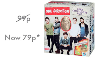 Lidl marks Zayn Malik's departure with a fifth off One Direction Egg