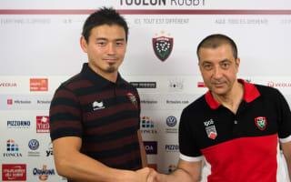Goromaru signing not just a marketing stunt - Toulon president