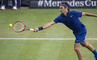 Federer's return from injury cut short by rain