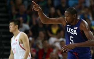 Durant leads Team USA to 57-point win over China