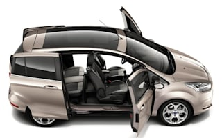 Ford opens the doors on clever new B-Max MPV