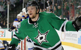 Faksa steals win for Stars, Sharks overcome Predators