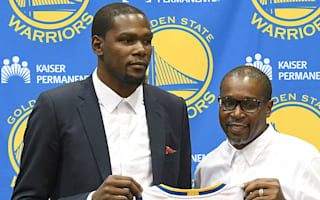 Durant's dad said it was time for his son to 'be selfish'