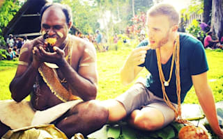 Gary Barlow tweets holiday photos from his trip to the Solomon Islands
