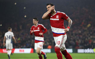 Middlesbrough 1 West Brom 1: Negredo earns point but winless run continues for Karanka's men