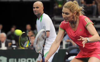 Agassi, Graf plead doubles cases
