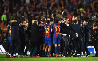 Rakitic: Barca comeback was like Patriots' Super Bowl win
