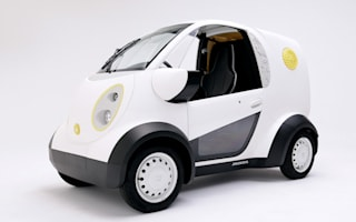Honda and Kabuku Inc. collaborate to unveil 3D-printed car