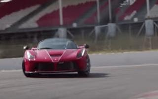 Watch Sebastien Vettel go for a quick blast in the LaFerrari Aperta