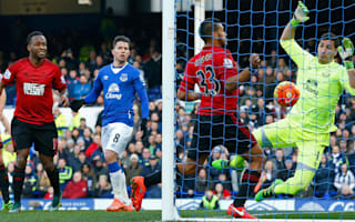 Everton 0 West Brom 1: Rondon snatches crucial victory
