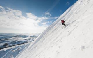 Skiers hit the snow... near Sheffield